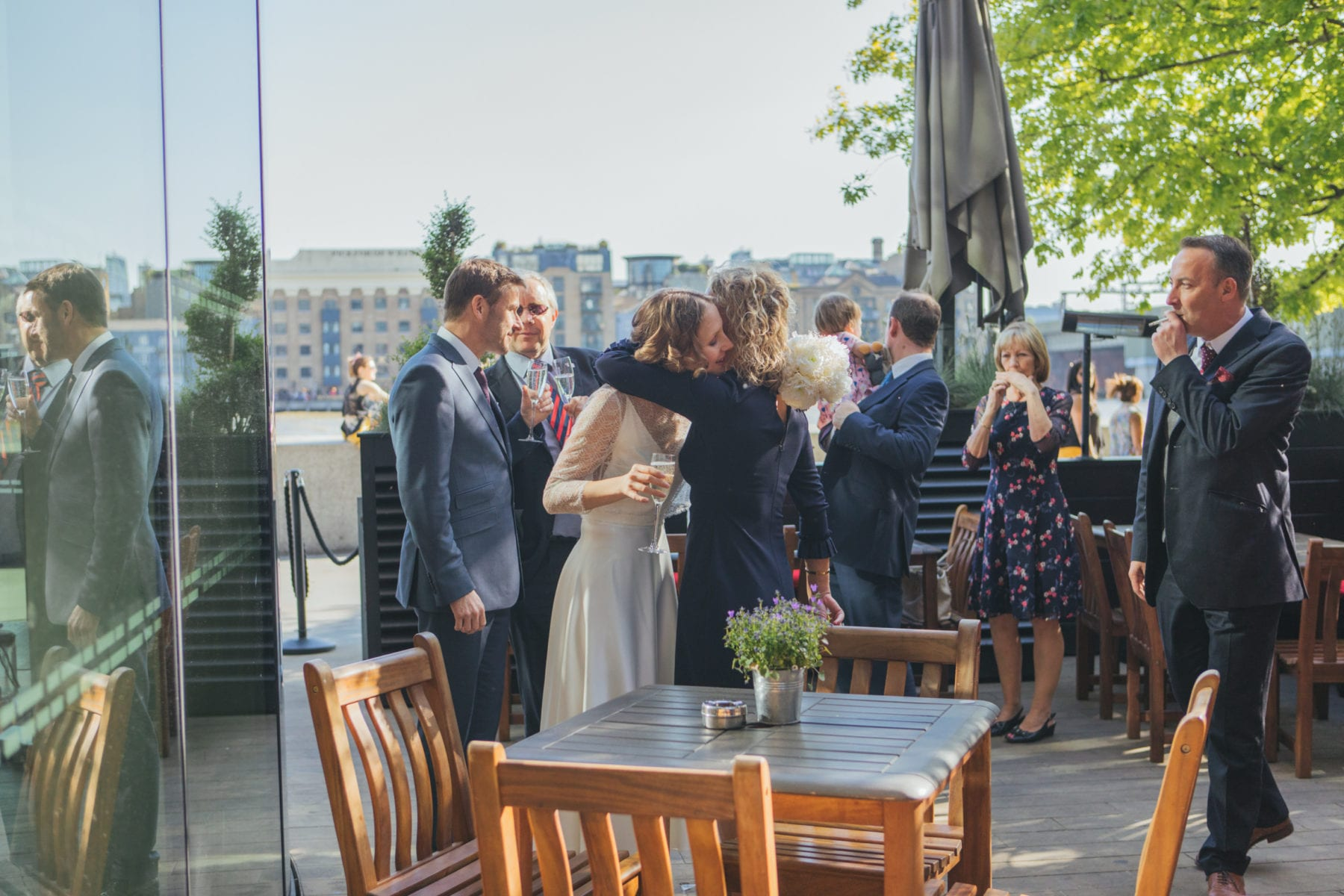 Oyster shed wedding London Bridge