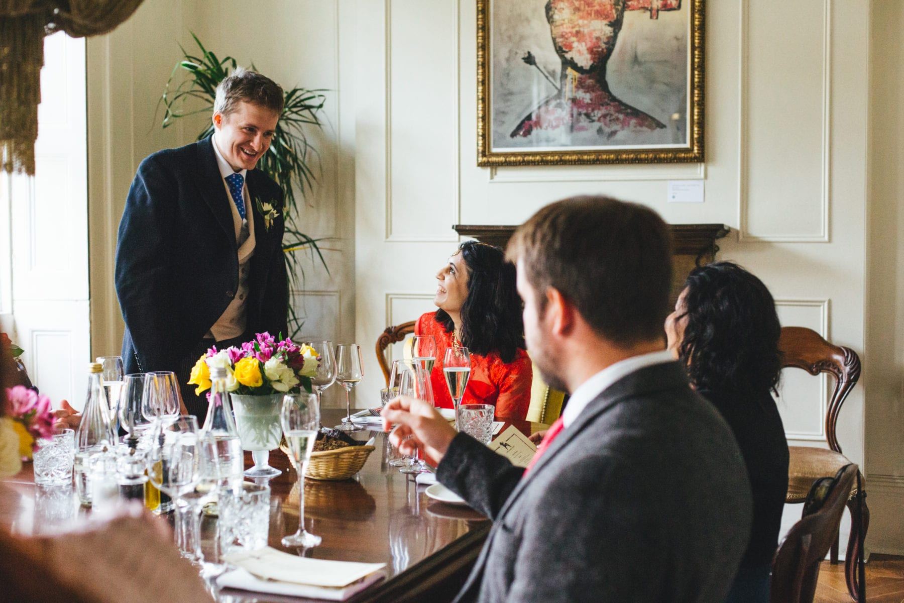 Wedding Reception at The Harcourt Marylebone