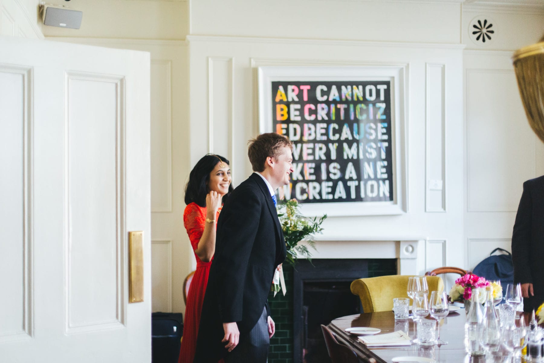 Asia House Wedding London, The Harcourt Marylebone